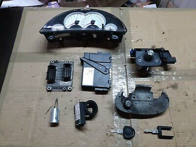 VAUXHALL CORSA C 1.2 sxi 01-06 COMPLETE ECU KIT & key & speedo/ignition lock