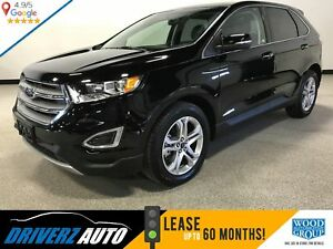 2017 Ford Edge Titanium CLEAN CARPROOF, PANORAMIC ROOF, HEATE...