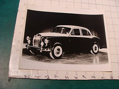 vintage Original auto dealership Photo: MG MAGNETTE w Specifications 1950's