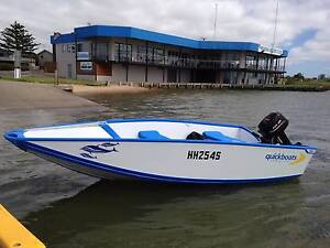 Quickboat with Parsun 9.8hp Goolwa Alexandrina Area Preview
