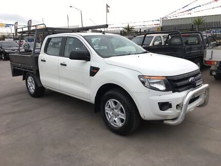 2012 Ford Ranger PX XL Utility Double Cab 4dr Man 5sp WITH RWC