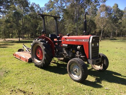Tractor and Slasher.. Massey Ferguson 240 teliable Tamborine Ipswich South Preview