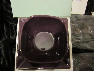 teller und Kerzenhalter, Schale 2 tlg. lila schwarz OVP Deko (Lila Und Schwarzer Dekorationen)