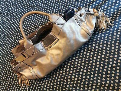 Genuine Gucci Leather Weekender bag - Made in Italy - Serial number (Used)