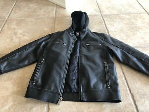 Moto Jacket Boys Size Small
