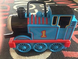 Thomas tank engine carry case and metal trains Cranebrook Penrith Area Preview