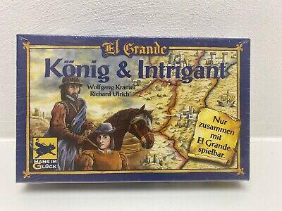 König und Intrigant Erweiterung zu El Grande Spiel des Jahres 1996 Hans...