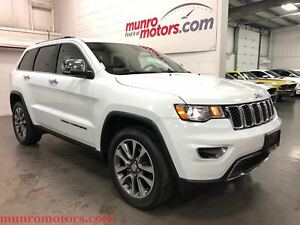 2018 Jeep Grand Cherokee Limited Sunroof NAV Htd Steering Wheel