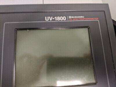 Shimadzu Uv-1800 Spectrophotometer