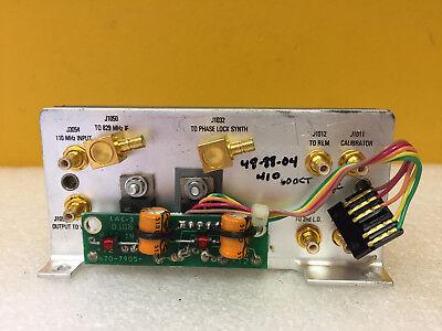 Tektronix 119-1579-01 Oscillator-mixer Assy For 492 494 2790 Analyzers. Tested