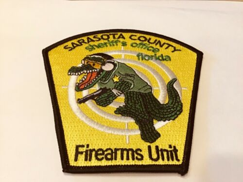 SARASOTA COUNTY SHERIFF'S OFFICE FIREARMS UNIT  PATCH