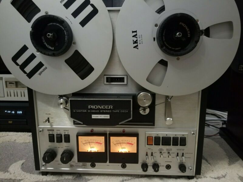 Pioneer RT-1050 Reel to Reel Tape Recorder (Serviced)