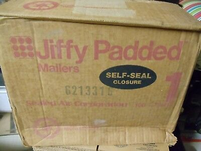 Box Of Jiffy Padded Sealed Air Mailer 1 Size 7.25 X 12 No. 85922
