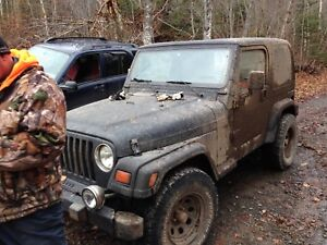 Wanted a Jeep tj hard top