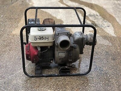 Honda Gx340 Trash Pump 4 Koshin Kth-100x 422 Gpm Water Pump 100x-baa-0