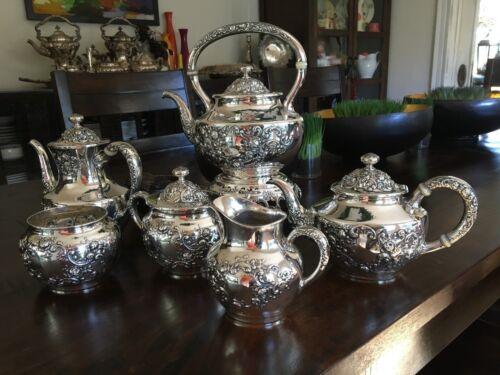 6 pc. Gorham Sterling Tea Set