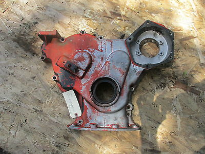 1370 Case Diesel Farm Tractor Timing Front Crank Case Cover Free Ship