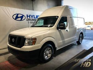 NISSAN NV 2500 V8 HD S HIGH ROOF + CLIMATISEUR + CRUISE + WOW !