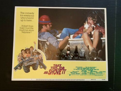 1981 Take This Job And Shove It Promo Movie Lobby Card 1