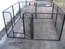 BRAND NEW Pet Dog Exercise Encl Fence Play Pen Run-81cmx8 PANEL Kingston Logan Area Preview