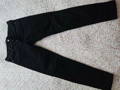 Zara Black Skinny Jeans Size 38 10
