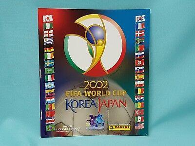 Panini WM 2002 Korea Japan World Cup Sticker Sammelalbum Album Leeralbum