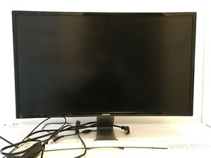 Samsung 27-inch curved monitor
