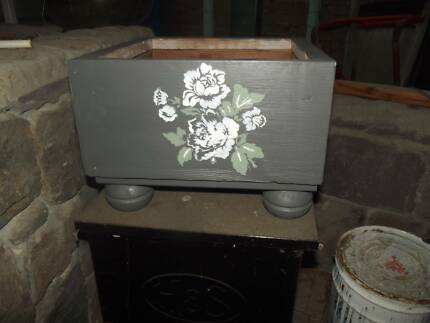 Recycled Fruit Crate Planter Box Raised Veggie Gardens