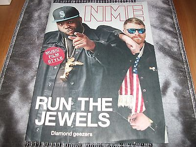NME Magazine Run The Jewels Loyle Carner Donald Trump Twin Peaks 20/01/17 NEW