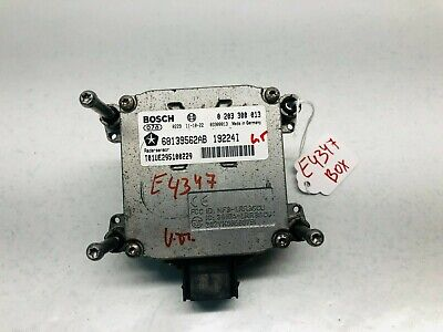 68139562AB, 2011 2012 CHRYSLER 300 FRONT ADAPTIVE SPEED CONTROL MODULE UNIT