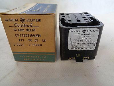 New General Electric 10 Amp Relay Cr279e100h54