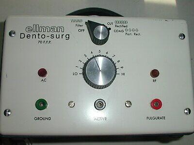 Ellman Dento-surg Electrosurgery Unit Excellent