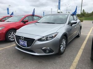 2015 Mazda Mazda3 Sport GS-Sunroof, Htd Seats, Back up cam, Remo
