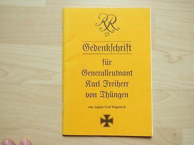 Freiherr von Thüngen Kageneck Gedenkschrift 1994