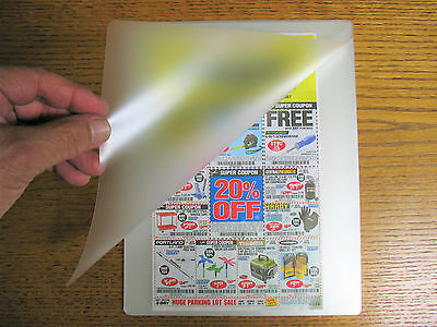 3 Mil Laminating Laminator Pouches 9 X 11-12 Letter Size Virus Protection