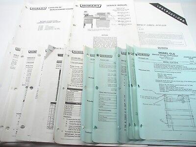 Hobart Compact Label Applier Service Instruction Parts Manual Cla Cla2