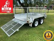 8x5 Trailer Tandem Galvanised Ramp 600mm Mesh Cage 2000kgs ATM Coburg Moreland Area Preview