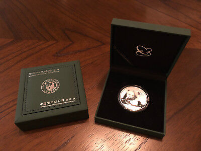 2015 China Panda Silver 1 Troy Oz .999 Fine Silver Coin 10 Yuan Face Value Mint - Chinese Coins Value