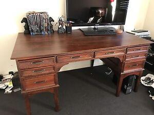 Large Timber vintage desk Warner Pine Rivers Area Preview