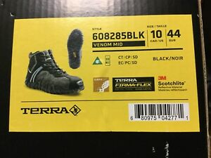 New Terra safety shoes.  Sz 10