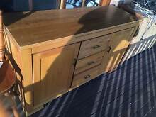 baliese side table, lamp table and buffet Wallsend Newcastle Area Preview