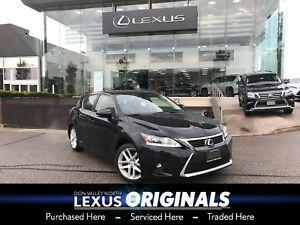2017 Lexus CT 200h Touring Package Backup CAM Heated Seats Sunro
