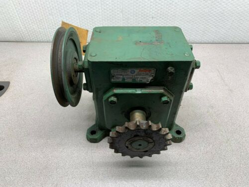 USED GROVE GEAR FLEXALINE SPEED GEAR REDUCER 60:1 RATIO B1262-1