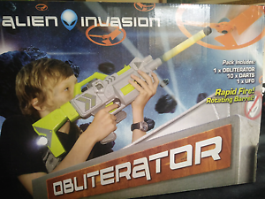 Nerf Style, 10 shooter, Rifle with UFO Prospect Prospect Area Preview