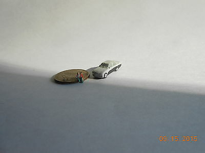 Z SCALE BENTLEY   AUTO/VEHICLE HANDPAINTED FOR TRAIN LAYOUT for sale  Ottumwa