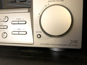 Sony AM/FM stereo receiver STR-K740P amplifier.
