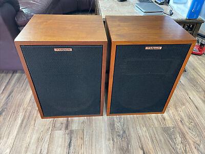 Klipsch Heresy Original Oiled Speakers Amazing Sound!