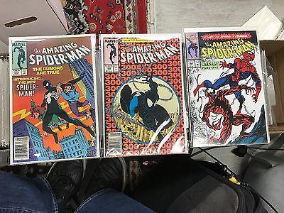 Punisher, Spider-Man, Batman - Lot of (100) Marvel/DC+ Vintage Comics - Awesome!
