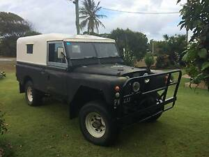 1964 Land Rover Series 2a (4X4) 109 inch wheel base, runs well Rainbow Beach Gympie Area Preview