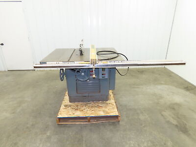 Delta Milwaukee 14 Table Saw Powermatic Fence 5 Hp 3ph 230460v Rockwell 12-14
